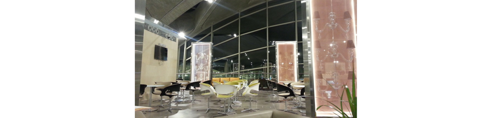 Royal Jordanian Crown Lounge and CIP
